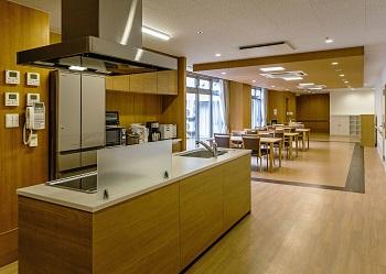 昭和郷小規模多機能居宅介護センター食堂・居間